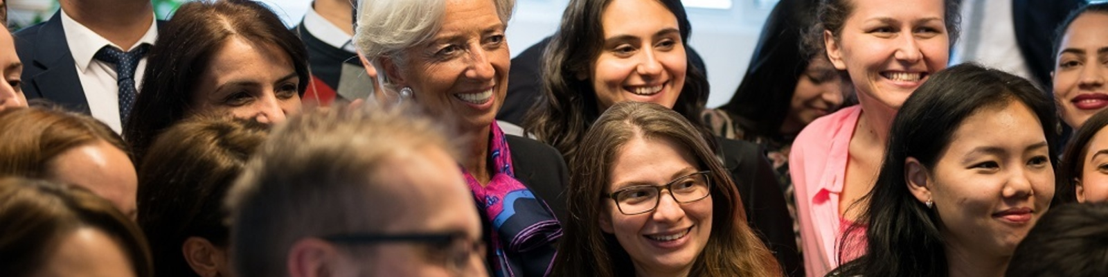 We also hold special lectures to discuss both policy and capacity development, as for example during the visit of IMF Managing Director, Christine Lagarde.